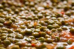 Peas dish Royalty Free Stock Image