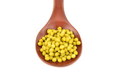 Peas isolated background Royalty Free Stock Images