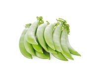Peas isolated on white background. Peas isolated on a white background Stock Image