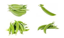Peas isolated on white background. Peas isolated on a white background Stock Photography