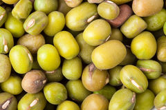 Peas, mung bean as a background close-up macro Stock Images
