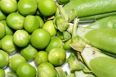 Peas,peasecod. Royalty Free Stock Photos