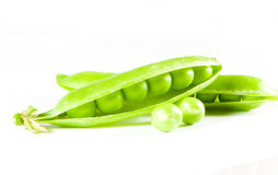 Peas pod Stock Photos