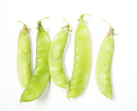 Peas pod Royalty Free Stock Photo