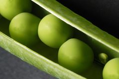 Peas in a pod Stock Images