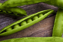 Peas in a pod Stock Photos
