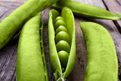 Peas in a pod Royalty Free Stock Photos