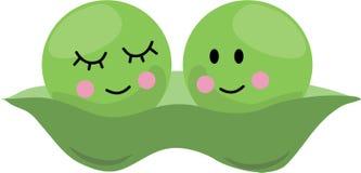 Peas In Pod Royalty Free Stock Photos