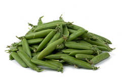 Peas pods Royalty Free Stock Photo