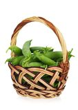 Peas pods Royalty Free Stock Photography