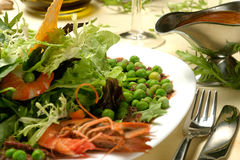 Peas Salad Royalty Free Stock Image