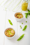 Peas souffle Royalty Free Stock Photos