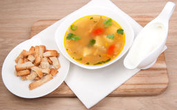 Peas soup Stock Photography