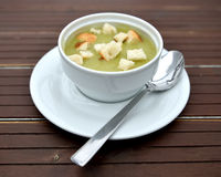 Peas soup Royalty Free Stock Photo