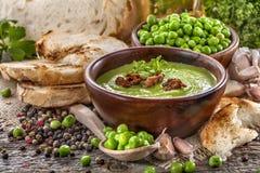 Peas soup Stock Photography