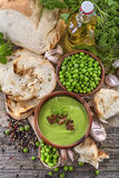 Peas soup Royalty Free Stock Images