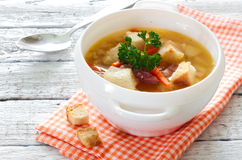 Peas soup Royalty Free Stock Photography