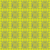 Peas in a square lattice. Pea placed on pyramidal group of squares filled in with dissymetrically radial gradient Royalty Free Stock Photography