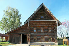 Peasant ancient house in Suzdal. Russia Stock Images