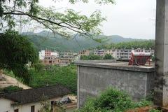 Peasant family-Small mountain village Stock Image