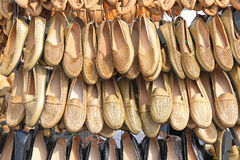 Peasant footwear Stock Photo