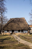 Peasant house in Village Museum, Bucharest Royalty Free Stock Photos