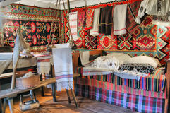 Peasant  interior Stock Photo