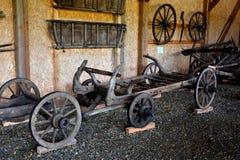 Peasant Museum in Dumbrava Sibiului, Transylvania Royalty Free Stock Image