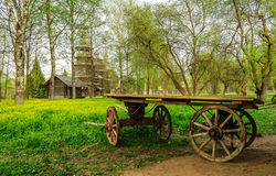 Peasant wagon Royalty Free Stock Photography