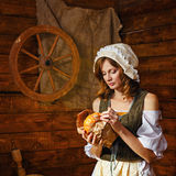 Peasant woman Stock Photography