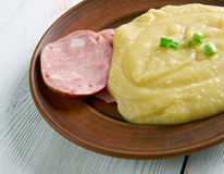 Pease pudding Royalty Free Stock Images