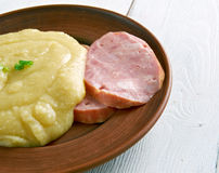 Pease pudding Royalty Free Stock Photography