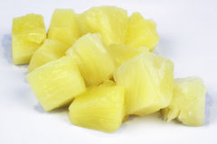Peases of pineapple Stock Photography