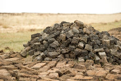 Peat Stock Photo