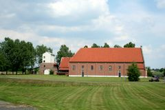 Peat colony and open air musuem in the village of Barger-Compascuum Stock Images