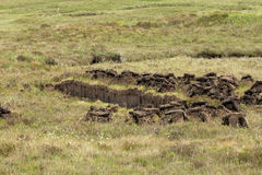 Peat Cutting Stock Images