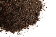Peat soil Royalty Free Stock Photography