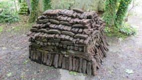 Peat (turf) Royalty Free Stock Photography
