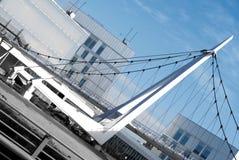 Peatonal Pasarela, Σαραγόσα Στοκ Εικόνα