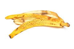 Peau de banane Photo stock
