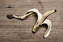 Peau de banane. Photo stock