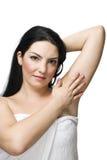Peau de femme de santé Photographie stock