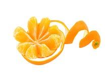 Peau de mandarine Photos libres de droits