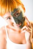 peau de masque de soin image stock