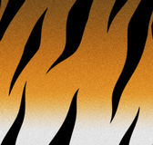 Peau de tigre   Images libres de droits