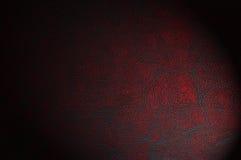 Peau de vache rouge de claret - cuir photos stock