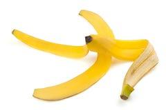 Peau mûre de banane Images libres de droits