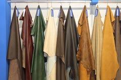 Peaux en cuir Images stock