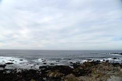 Pebble海滩, 17英里驱动,加利福尼亚,美国 库存图片