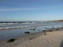 Pebble海滩,加利福尼亚 免版税库存图片